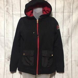 L-RL Ralph Lauren Active Hoodie S Black Jacket